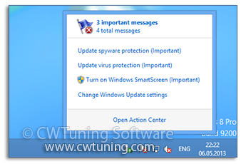 Disable Windows Security Center Service - WinTuning Utilities: Optimize, boost, maintain and recovery Windows 7, 10, 8 - All-in-One Utility