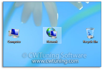 Hide «Network» icon on desktop - WinTuning Utilities: Optimize, boost, maintain and recovery Windows 7, 10, 8 - All-in-One Utility