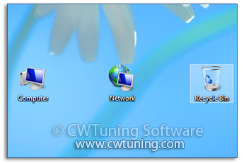 Hide «Recycle Bin» icon from desktop - WinTuning Utilities: Optimize, boost, maintain and recovery Windows 7, 10, 8 - All-in-One Utility