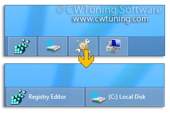 Prevent grouping of taskbar items - WinTuning Utilities: Optimize, boost, maintain and recovery Windows 7, 10, 8 - All-in-One Utility