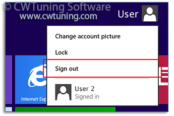 Disable «Log off» item - WinTuning Utilities: Optimize, boost, maintain and recovery Windows 7, 10, 8 - All-in-One Utility