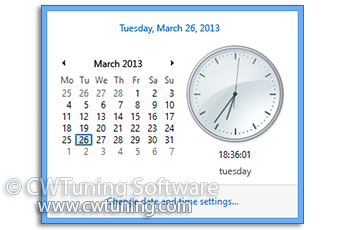 Synchronize Internet time every - This tweak fits for Windows 8
