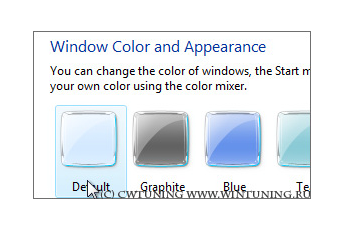 Disable changing frame coloring - This tweak fits for Windows Vista